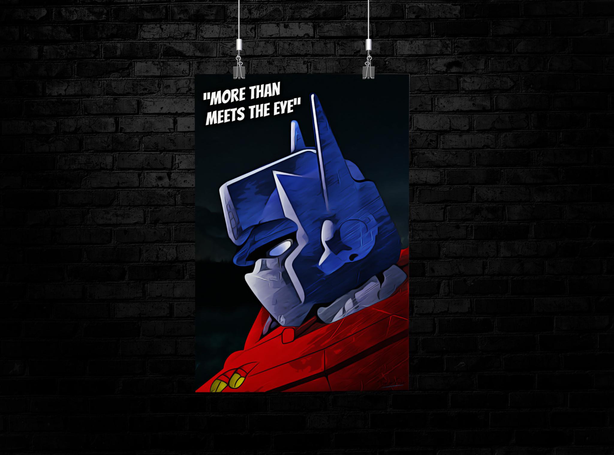 Optimus Prime Poster
